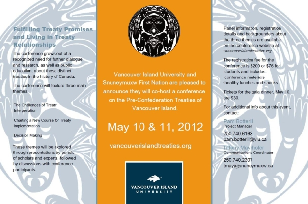 Vancouver Island Treaties Conference Information